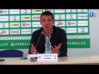 БАТЭ 0:1 Динамо Послематчевая пресс-конференция Вука Рашовича