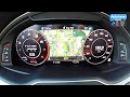 2016 Audi Q7 3.0 TFSI (333hp) - 0-200 km/h acceleration (60FPS)