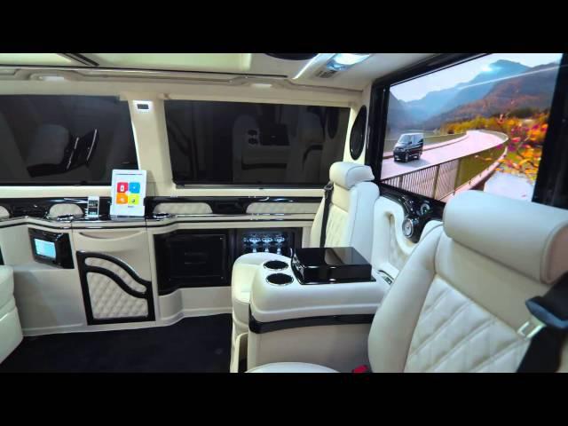 Genfer Autosalon News, KLASSEN VW T5 VIP Business Luxus Van, Автосалон Женева 2013