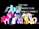 PMV Is your purpose clear, Princess Sparkle