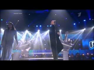 Голос: Наргиз Закирова и Анна Александрова - Замок из дождя