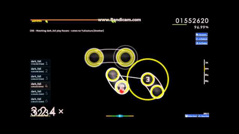 Dark_fail play osu - Kozato - 45nen no Yukizakura [Another]