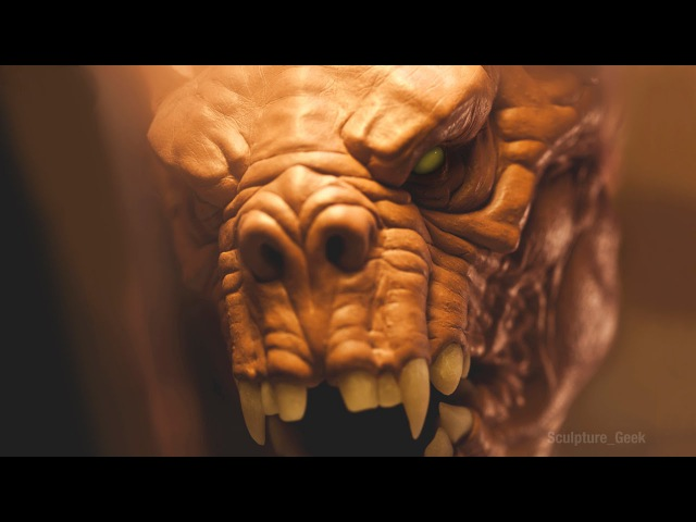 Sculpting a Deathclaw from Fallout 4 Traditionally - Sculpture_Geek