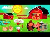 Веселая ферма развивающий мультик HD Раз Два Три ТВ