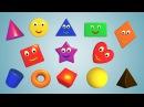 геометрические фигуры для детей от 6 месяцев цвета Весёлые фигуры для самых мале