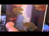 Игорь Сахаров, научиться рисовать маслом воду, кувшинки