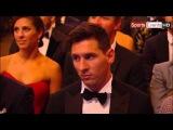 Lionel Messi Wins Ballon FIFA Ballon DOr 2015 - Gana el Balon de Oro 11.01.2016