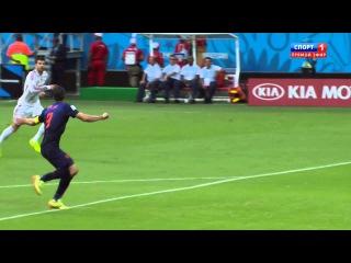 Чемпионат Мира 2014 / Группа B / 1-й тур / Испания -- Голландия (2014)