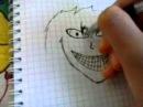 Как нарисовать джеффа киллера