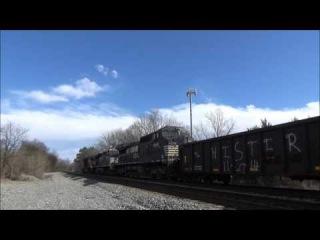 Railfanning at Pratt, Hixson, & Tyner ft. CP on 179 & matched D8-40CW pair! (Feb. 5-9, 2016)