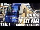 GoPro, Führerstandsmitfahrt Fulda - Kornwestheim in Echtzeit, Taurus HD Teil 1