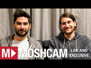 You Me At Six talk Reading, hometown eats, x-rated tour stories & hangover cures | Moshcam Interview