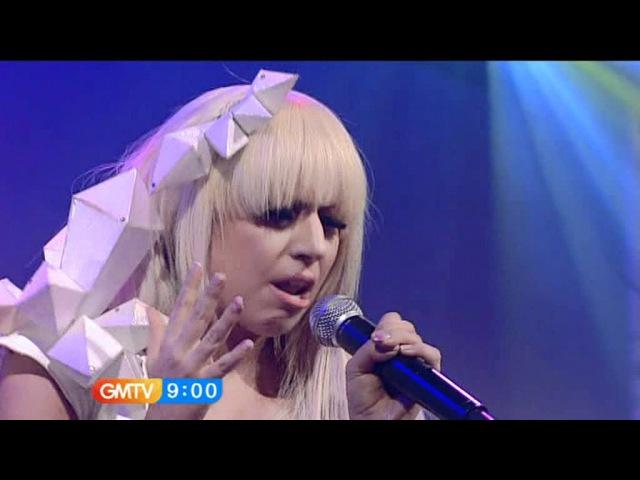 Lady Gaga - Just Dance Live @ (GMTV)