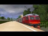 Марьино-Москва на ЭР2Р-7053 (Trainz simulator 2012)