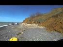 Дикий пляж за поселком Николаевка Крым