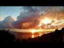 Восход солнца на побережье Черного моря Южный Берег Крыма