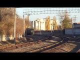 Тепловоз 2ТЭ10УТ-0076 с поездом 65 Москва—Кишинёв