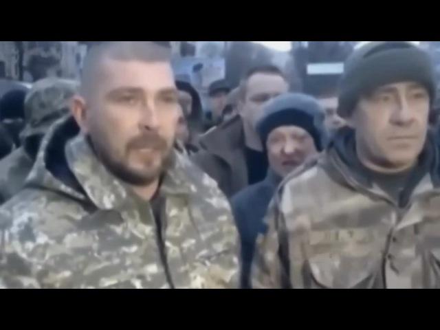Бунт и паника батальона Азов. Новороссия новости.