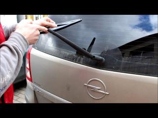 Opel Zafira B #Замена заднего дворника Lynx