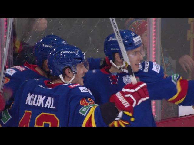 Гонка снайперов: Мозес поравнялся с Ковальчуком / KHL Goal Scorers: Mr.Moses scores his 17th 18th