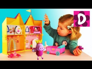 ✿ Свинка Пеппа ПРИНЦЕССА Распаковка Игрушки Новые Серии Свинка Пеппа на Русском Peppa Pig unboxing