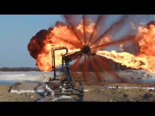 Сжигание попутного нефтяного газа.