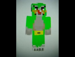 Огги и Джек в Minecraft