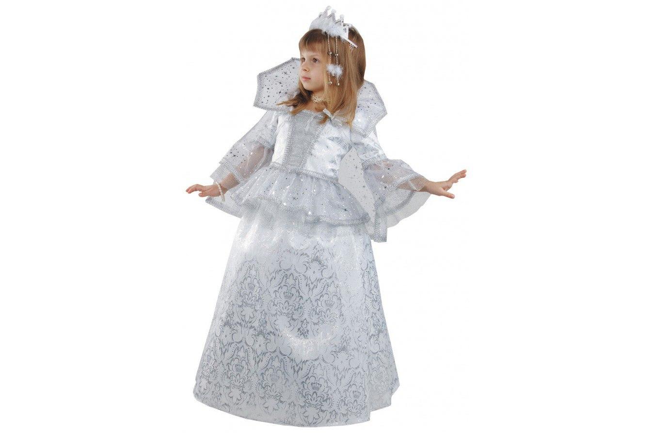Новогодние костюмы снежной своими руками фото