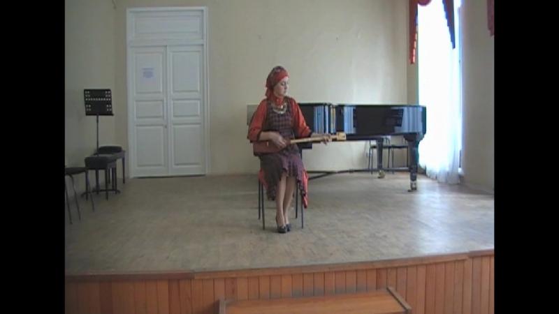 Сак Сок (народная песня-баит. нагайбакская традиция) Савельева Юля (2 курс, думбра)