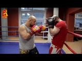 Игорь Смольянов и Илья Воробьев. Бокс. Снимаем блок и бьем апперкот. Апперкоты в клинче