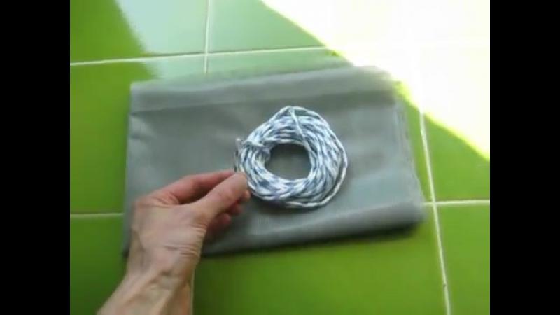 Противомоскитная сетка своими руками белая набор