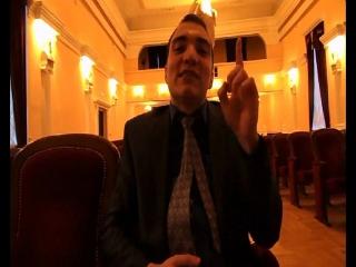 Видео-приглашение президента(мэра) на фестиваль стоматологического факультета