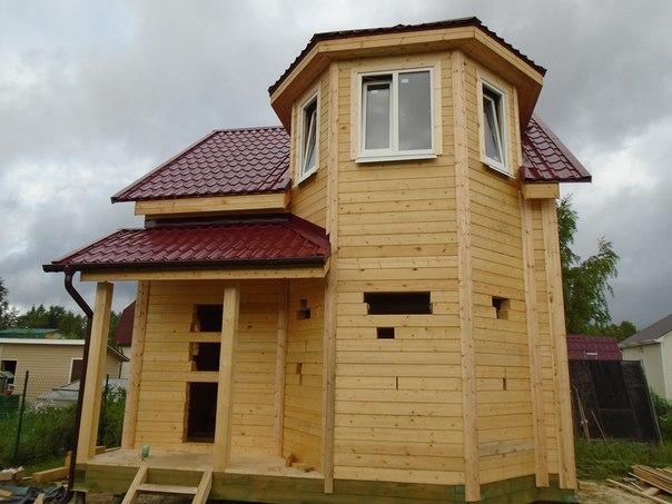 Проект загородного дома - фото