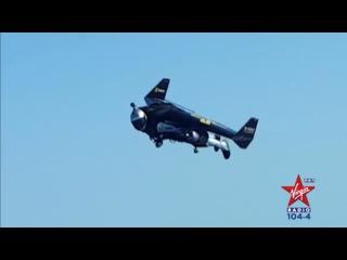 Watch Jetman Fly Over Dubai!