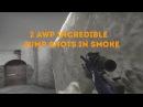 Insane 2 AWP kills Jump shots in smoke.