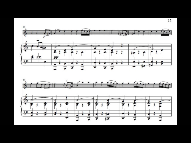 Schnittke - Suite in the Old Style for Violin Piano (Op.80)