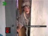 Сумашедшая бабка хулиганит в подъезде! устроила газовую атаку на жильцов дома!