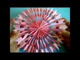Как сделать из бумаги 3D снежинку. Мастерим с детьми поделки на новый год и рождество