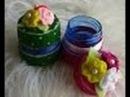 RECICLAGEM - Mini caixinha com tampa de Garrafa Pet