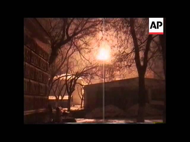 Chechnya Heavy Fighting Rages In Grozny