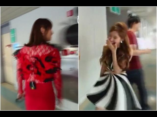 13 февр. 2016 г.Seohyun, BoA, SNSD reaction to Changmin in dress red