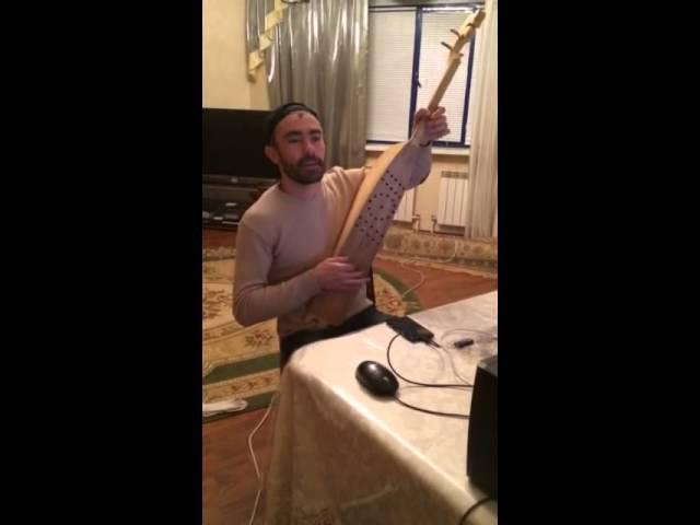Аварская песня на пандуре