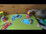 Развивающие мультфильмы для детей до 3 лет.пазл собираем корабль .