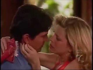 Andres y Bárbara.-Primer beso.- Amantes del Desierto.
