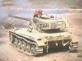 Chars AMX 13 : Tirs canon de 75 au Goubad (DJIBOUTI) en 1976