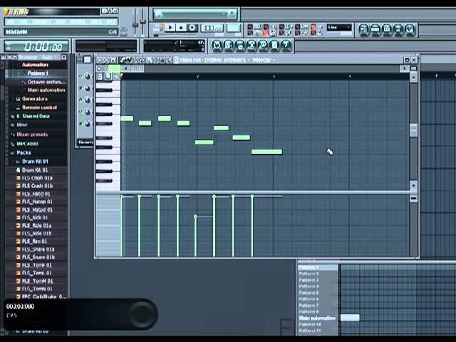 Видео урок № 2.7 Удобная запись с Midi-keyboard Fl Studio