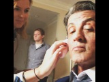 """Sly Stallone on Instagram: """"Starting up the press junket for creed"""""""