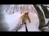 Travis Rice Just Another Chairlift Lap Japan GoPro