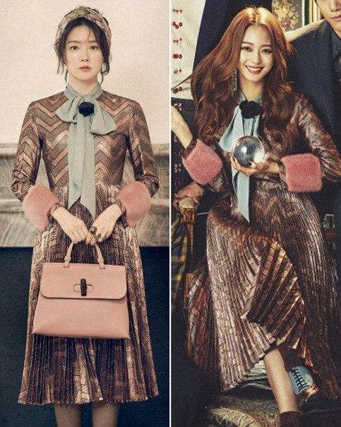 [Одна одежда, разные впечатления] Ли Ён Э против Хан Йе Сыль, щёлк-щёлк