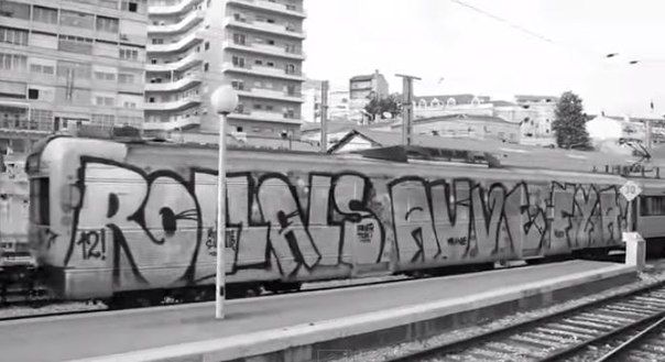 graffiti train, trainwritting
